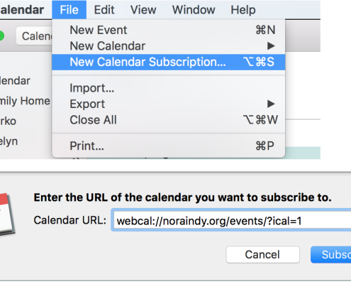 Add to Apple Calendar