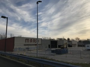 Aldi - Demolition of Old Marsh - Nora, Indiana